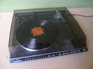 Rare Aiwa LP 3000u Linear Tracking DD Turntable Flagship