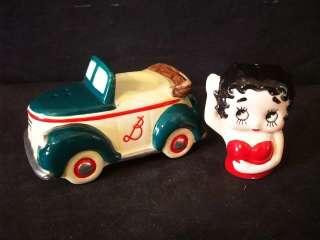 VANDOR 1994 BETTY BOOP CAR SALT AND PEPPER MIB #A450