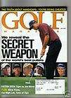 TIGER WOODS GOLF MAGAZINE 02 THE BEST PUTTERS GOLFING