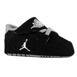 Jordan 1st Crib   Infants   Basketball   Shoes   Black/White/Stealth