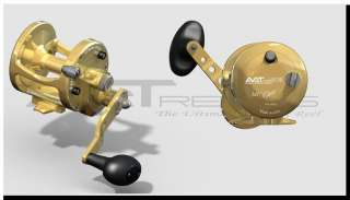 AVET LX 4.6 MC CAST Fishing Reel (Gold)