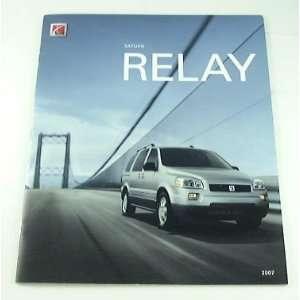 2007 07 Saturn RELAY Truck Suv BROCHURE Relay1 Relay2