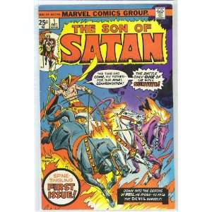 Son Of Satan # 1, 4.5 VG + Marvel Comics Group  Books