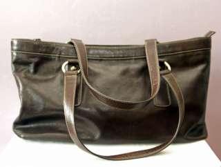 brown leather purse/ handbag