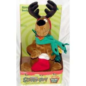 12 Scooby Doo Shimmy Christmas Carols Plush Toys & Games