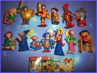 SET   FUNNY CASTLE KNIGHTS   FIGURES COLLECTIBLES GERMANY 2004