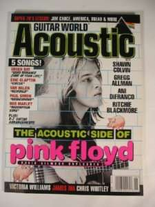 1998 Guitar World Acoustic Pink Floyd Eric Clapton