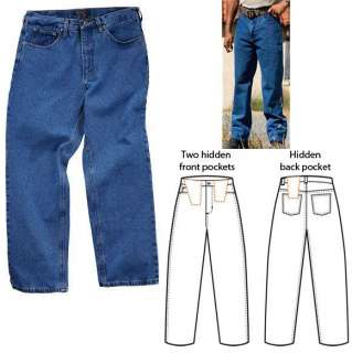 MEN JEANS RELAXED FIT PANTS TACTICAL DENMIN JEANS 511
