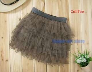 High Quality Full Tutu Tulle Tier 5 Layer Mini Cake Skirt With Lining