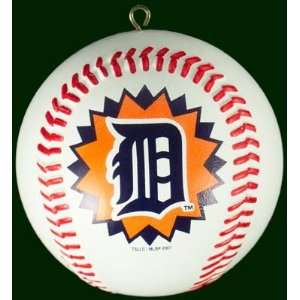 Detroit TIGERS MLB Baseball Shaped Christmas ORNAMENT New Gift