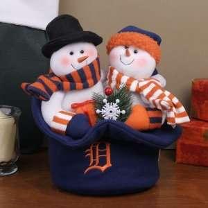 Detroit Tigers Snowmen Top Hat