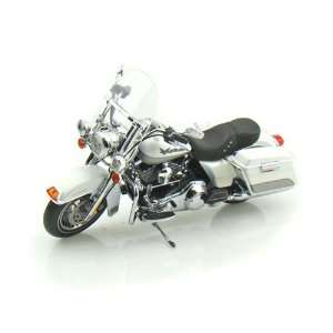 2009 Harley Davidson FLHR Road King 1/12 White Gold Pearl