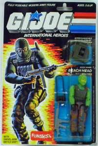 Beach Head GI Joe Action Figure by Funskool Hasbro