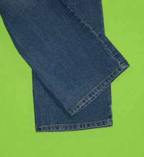 Levis Boot Cut Mid Rise sz x 31 Stretch Womens Blue Jeans Denim Pants