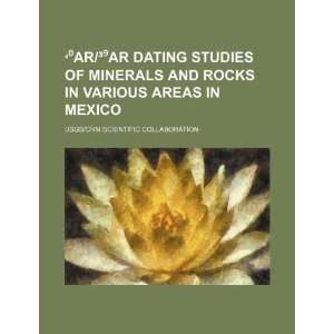 Ar/³Ar dating studies of minerals and rocks in various