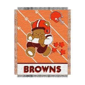 Cleveland Browns Triple Woven Jacquard NFL Throw (Baby