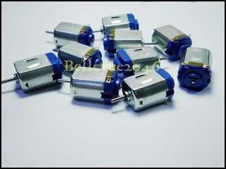 10pcs x DC 1.5~6V Mini Motor * Model 130 for small size racing car
