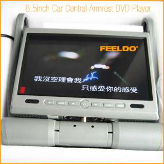 Inch Car Central armrest TFT LCD monitor with DVD player(FD DVD