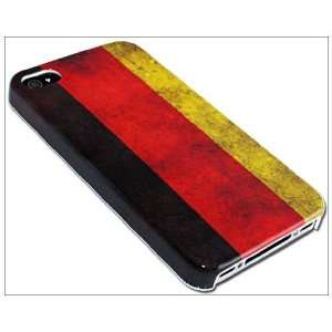 Unique Slim Retro German flag Germany Hard Case Cover for Apple