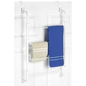 Over The Door Towel Rack, 26Hx17Wx4D, WHITE
