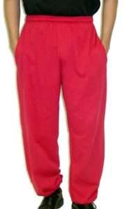 TALL MENS JERSEY GYM PANTS MANY COLORS ST 8XLT |