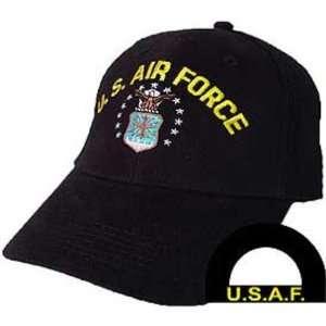 U.S. Air Force Logo Hat Black Patio, Lawn & Garden