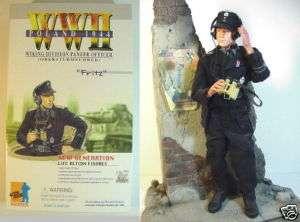 WWII GERMAN PANZER OFFICER DRAGON 12 FIGURE FRITZ