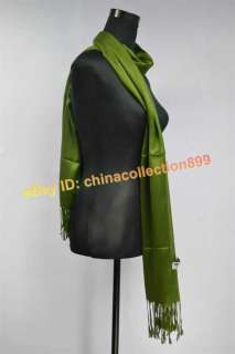 Solid Color Pashmina Cashmere Shawl/Wraps/Scarf