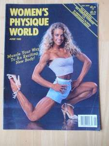 WOMENS PHYSIQUE WORLD female muscle/KRISTA PARR 6 85
