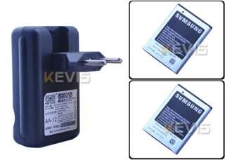 Battery + EU Wall USB Charger For Samsung Galaxy Ace S5830