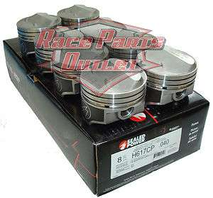 New Speed Pro SBC Chevy 350 .275 Dome Pistons .40 Over