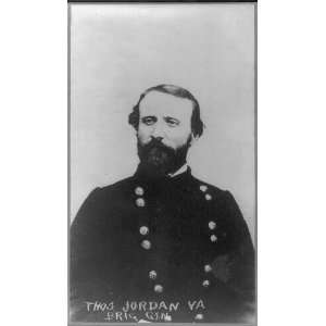 Thomas Jordan,1819 1895,Confederate General,Civil War Home & Kitchen