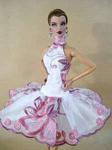 Clothes Dress Outfit Gown Candi Silkstone Barbie Fashion Royalty FR