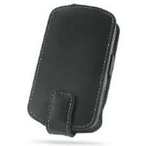 Sprint HTC Mogul Leather Flip Case (Black) Cell Phones