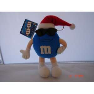 M&Ms Blue Christmas Plush Toy New with Tag 8 Everything