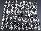mixed lots 40pcs tibetan silver dangle european beads f $ 7 99 free