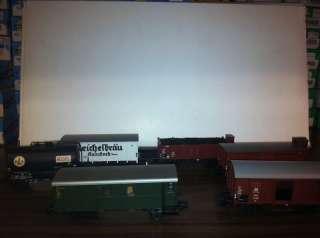 48810 Marklin HO Scale Train 6pc Freight Car Set NIB