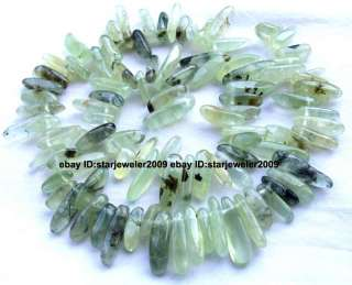 high quality beautiful beads natural stone material colore green