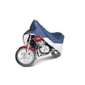 Classic Accessories 65 006 043501 00 Motorcycle Cover Blue and /Silver