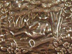Sterling Repousse Purse George Nathan Ridley Hayes Chester England
