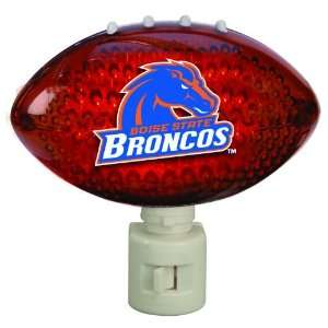 Pack of 2 NCAA Boise State Broncos Football Shaped Night