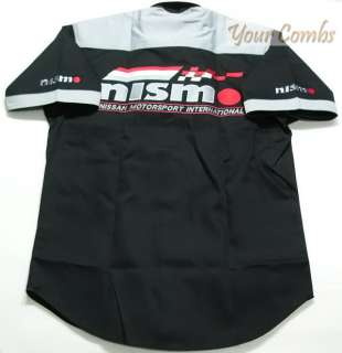 NISSAN NISMO MOTOR SPORT TEAM RACING PIT SHIRT M 5XL