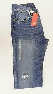 Tommy Hilfiger Premium Mens Medium Wash Custom Straight Jeans