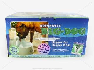 NEW DRINKWELL BIG DOG PET WATER FOUNTAIN DISH BOWL DOGC 679562801709