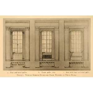 1918 Print Radiator Enclosure Grill Home Decor Design