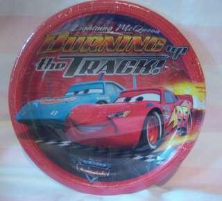 Disney Pixar Cars Birthday Cake Plates 8 Party McQueen