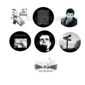 Joy Division set of 7 ONE INCH BUTTONS 1 Pins