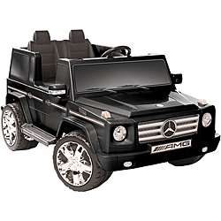 Two seater Black 12V Mercedes Benz G55 AMG Ride on
