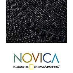 Alpaca Black Charisma Wool Sweater (Peru)