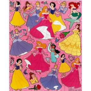 Disney Princesses STICKER SHEET E014 ~ Snow White Cinderella Aurora